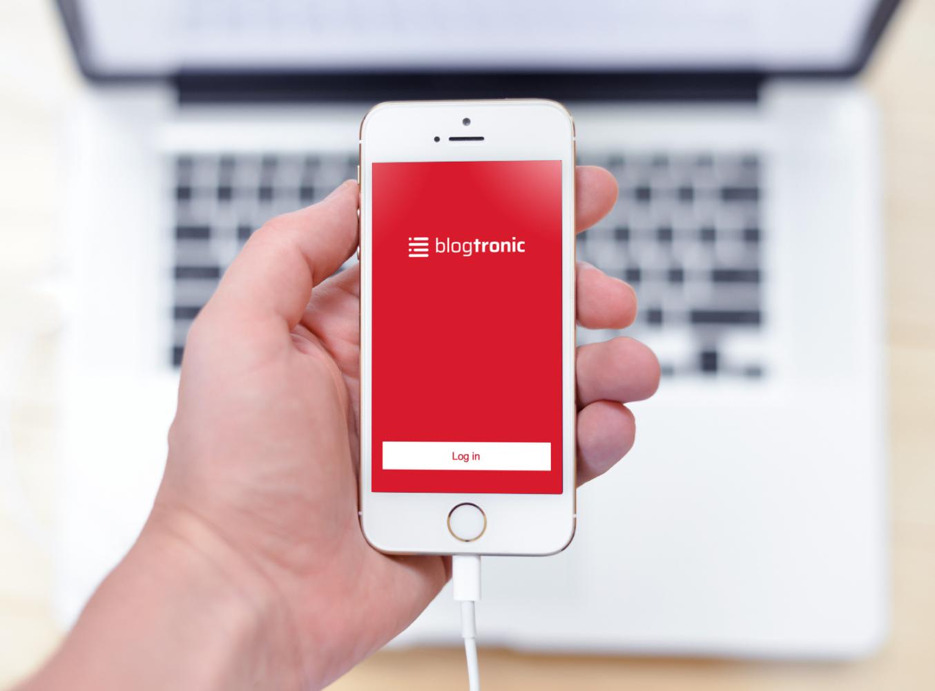 Sample branding #3 for Blogtronic