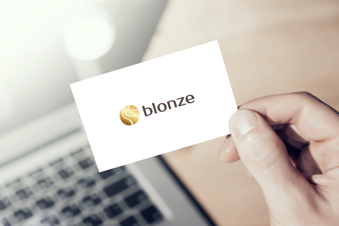 Sample branding #2 for Blonze