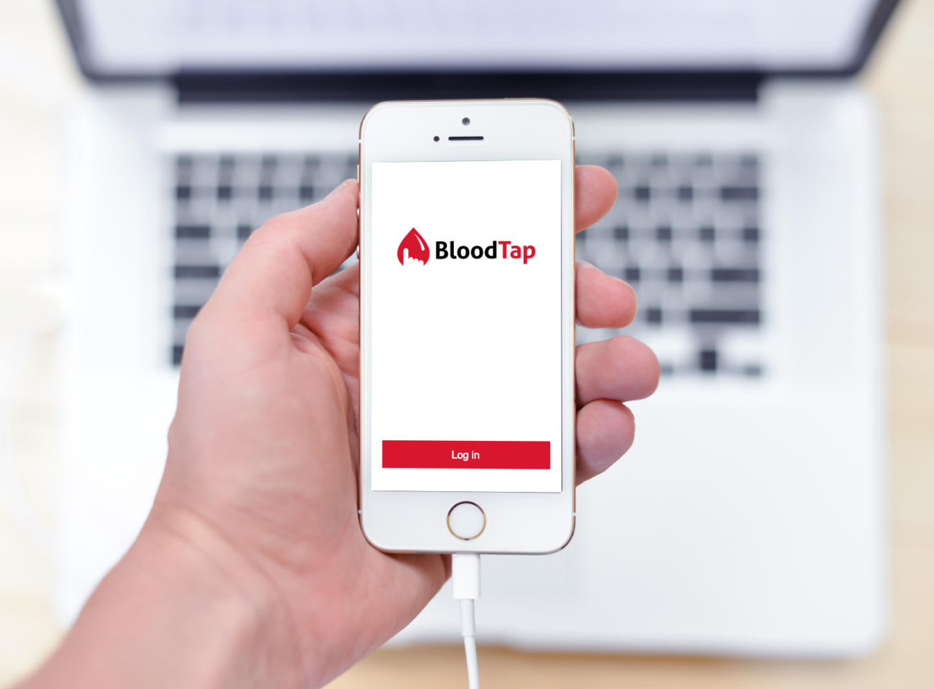 Sample branding #1 for Bloodtap