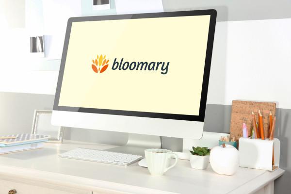 Sample branding #2 for Bloomary