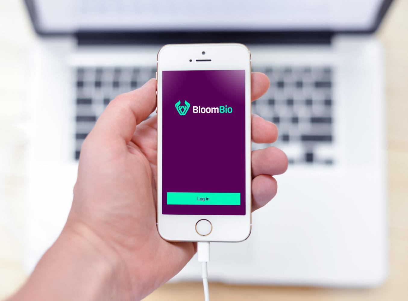 Sample branding #3 for Bloombio