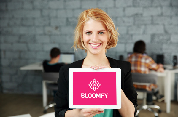 Sample branding #2 for Bloomfy