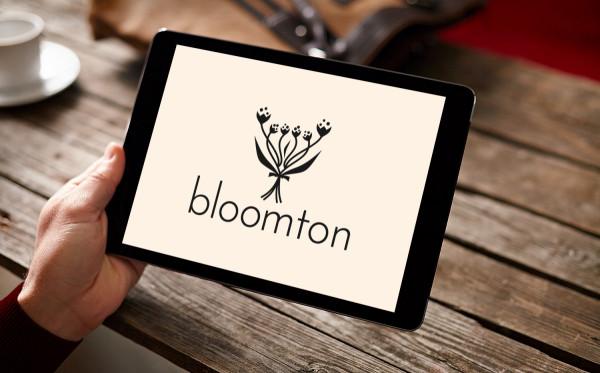 Sample branding #3 for Bloomton
