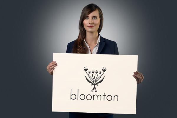 Sample branding #1 for Bloomton