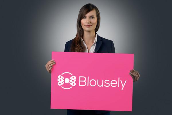 Sample branding #2 for Blousely
