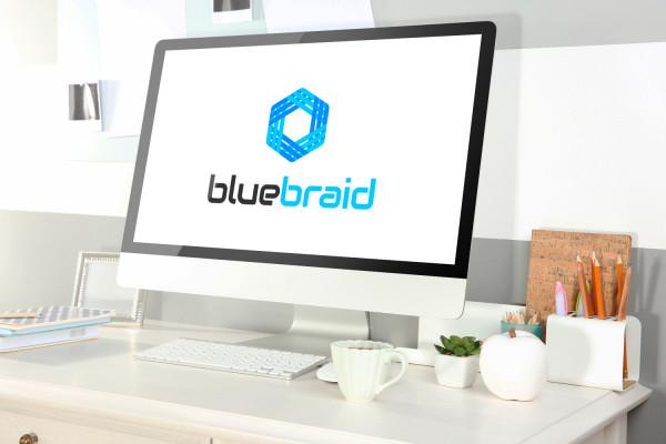 Sample branding #2 for Bluebraid