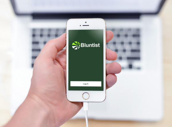 Sample branding #1 for Bluntist