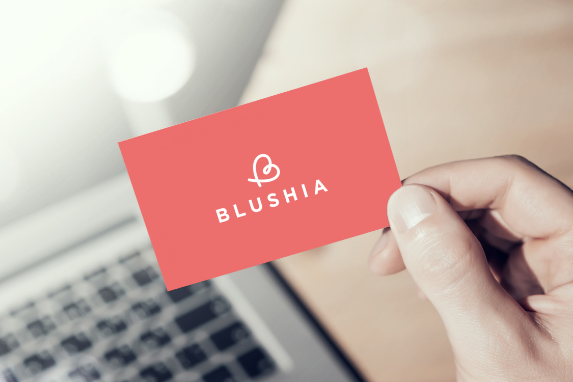 Sample branding #1 for Blushia