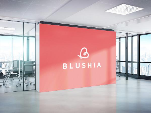 Sample branding #3 for Blushia