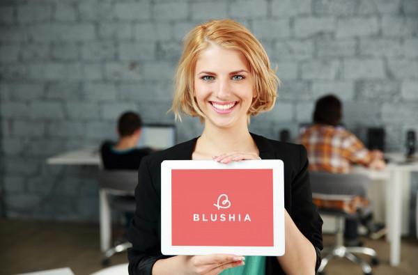 Sample branding #2 for Blushia