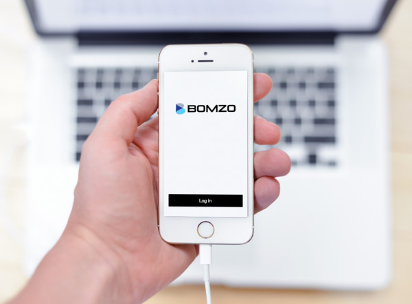 Sample branding #1 for Bomzo