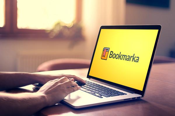 Sample branding #3 for Bookmarka