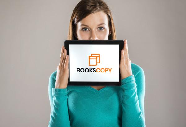 Sample branding #3 for Bookscopy