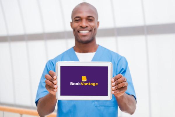 Sample branding #3 for Bookvantage