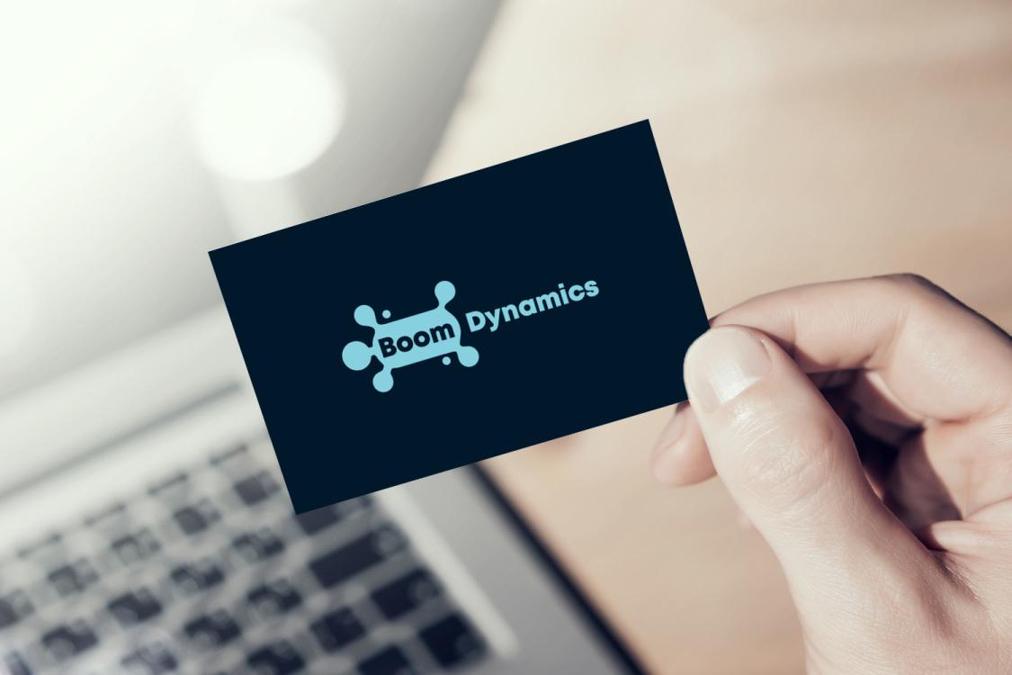 Sample branding #3 for Boomdynamics