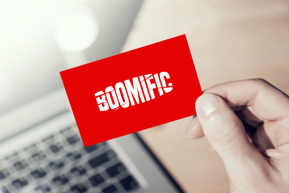 Sample branding #2 for Boomific