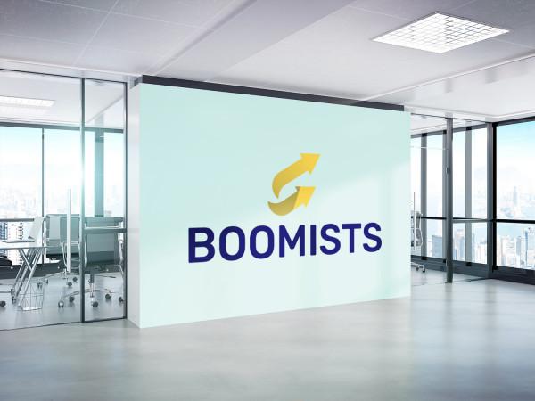 Sample branding #1 for Boomists