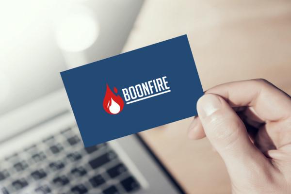 Sample branding #1 for Boonfire