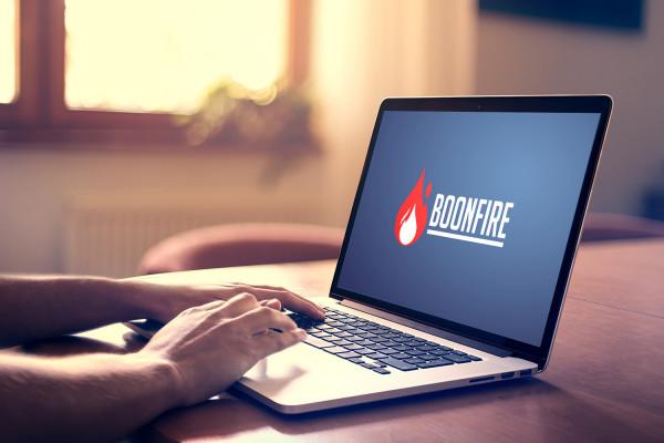 Sample branding #2 for Boonfire