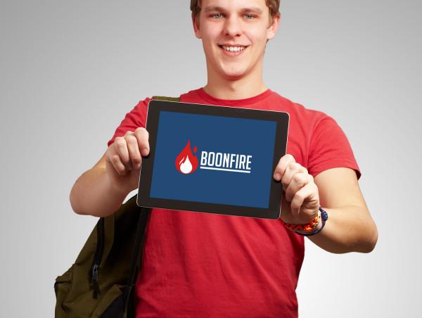 Sample branding #3 for Boonfire