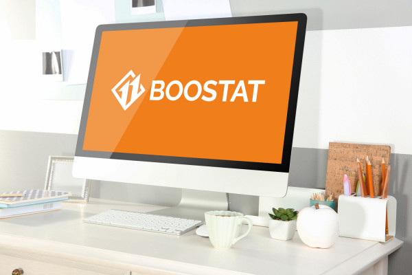Sample branding #3 for Boostat