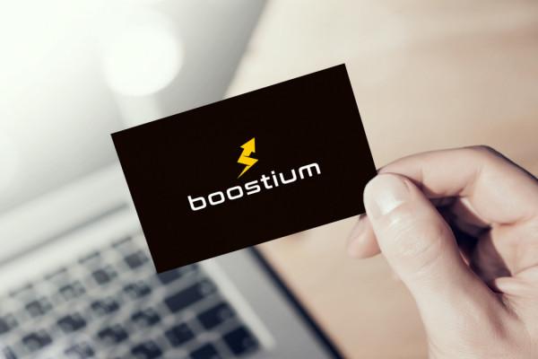 Sample branding #1 for Boostium