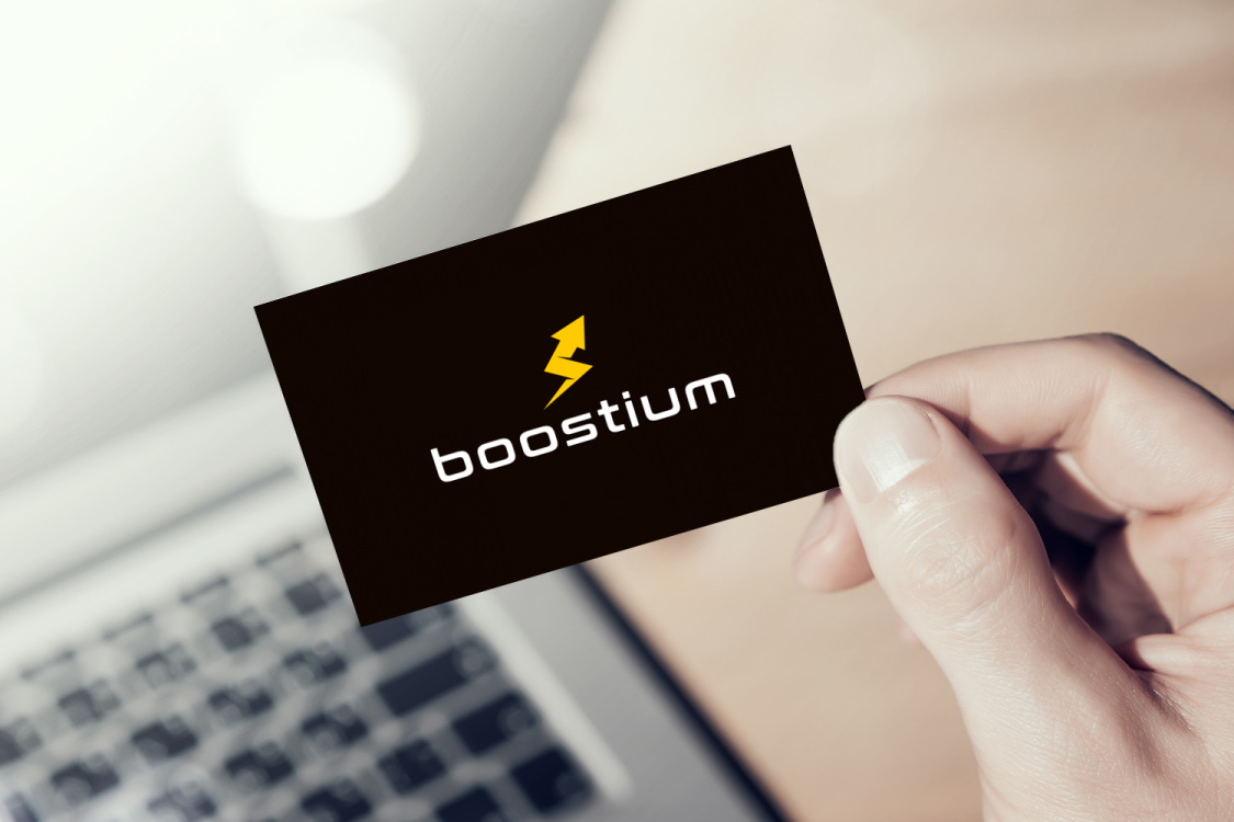 Sample branding #2 for Boostium
