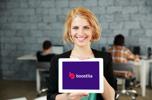 Sample branding #1 for Boostlia