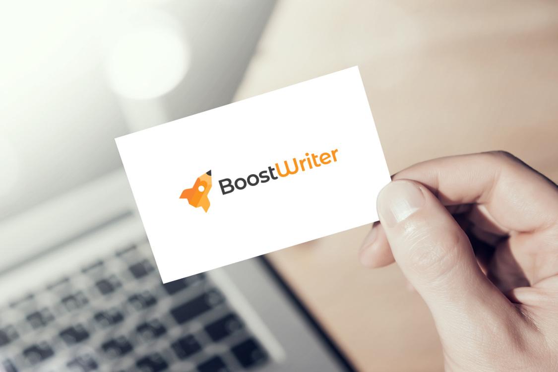Sample branding #2 for Boostwriter