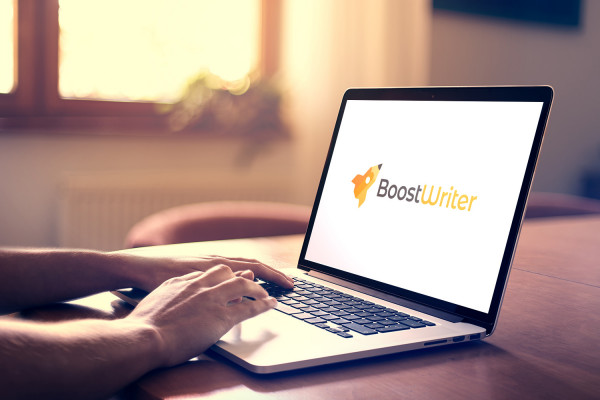 Sample branding #3 for Boostwriter