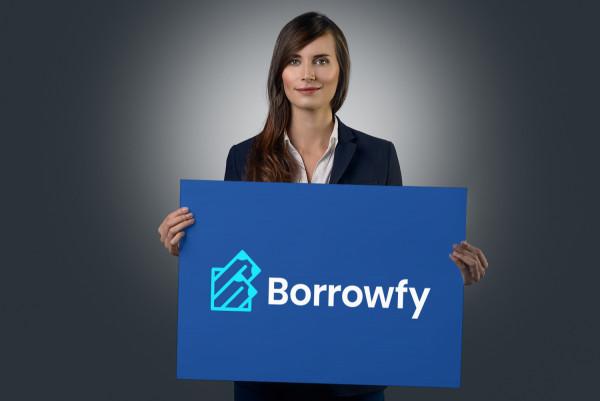 Sample branding #1 for Borrowfy