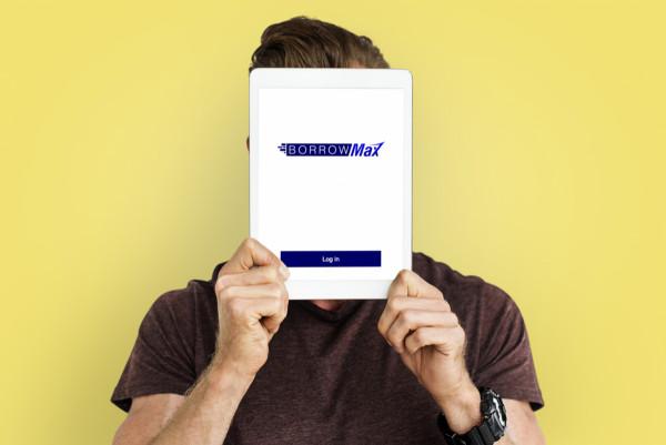 Sample branding #3 for Borrowmax