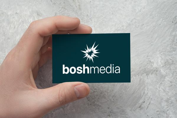 Sample branding #2 for Boshmedia