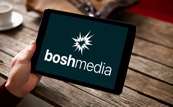 Sample branding #3 for Boshmedia