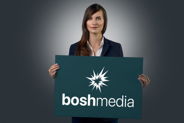 Sample branding #1 for Boshmedia