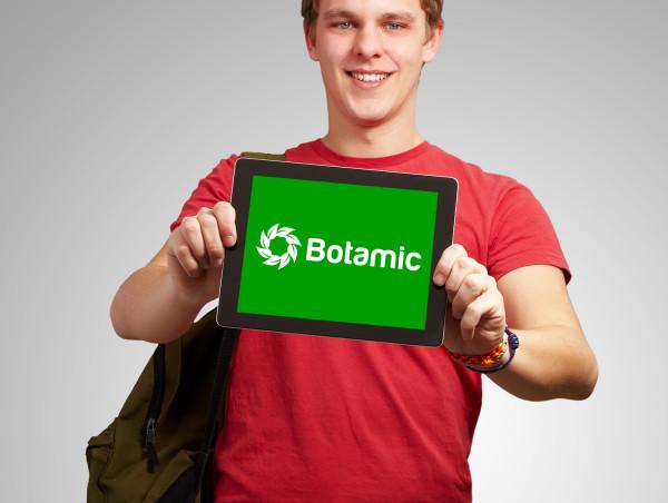 Sample branding #2 for Botamic