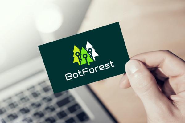 Sample branding #3 for Botforest