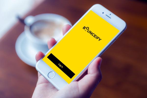 Sample branding #1 for Bounceify