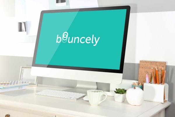 Sample branding #1 for Bouncely