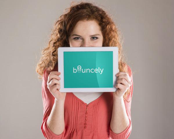 Sample branding #3 for Bouncely