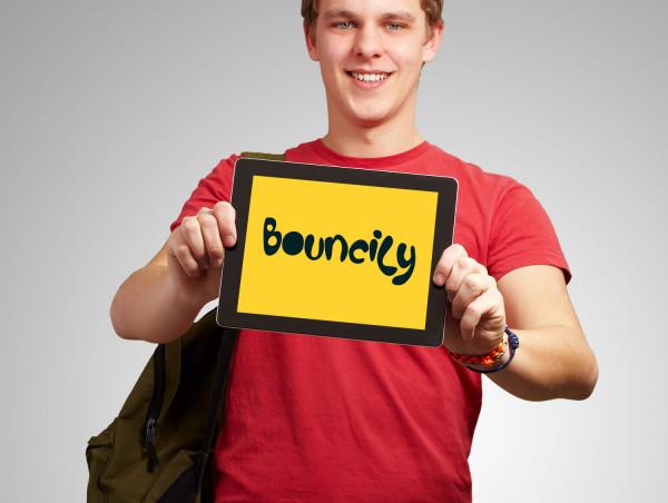 Sample branding #2 for Bouncily