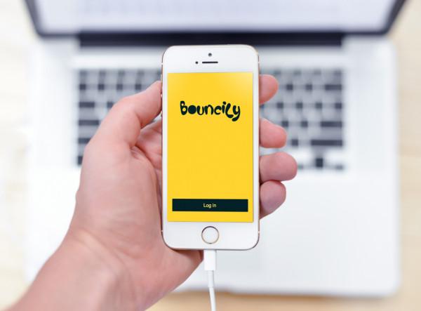 Sample branding #3 for Bouncily