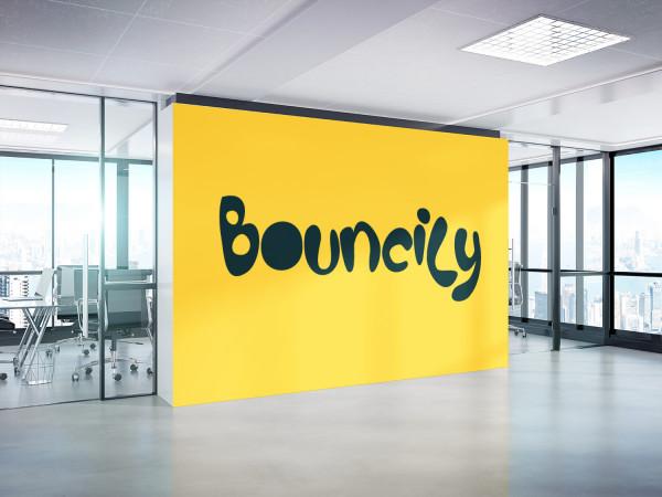 Sample branding #1 for Bouncily