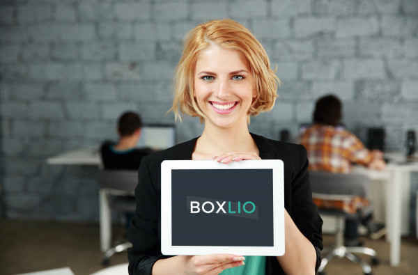 Sample branding #1 for Boxlio