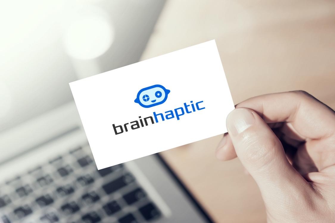Sample branding #2 for Brainhaptic