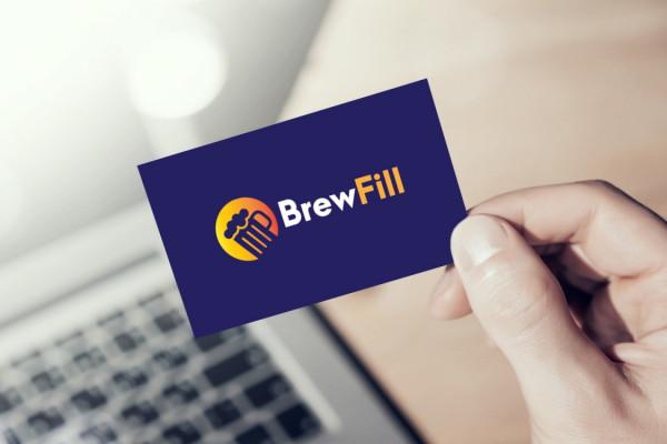 Sample branding #2 for Brewfill