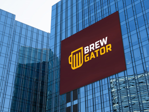 Sample branding #2 for Brewgator