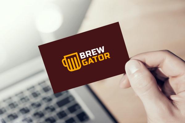 Sample branding #3 for Brewgator