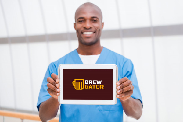 Sample branding #3 for Brewgator