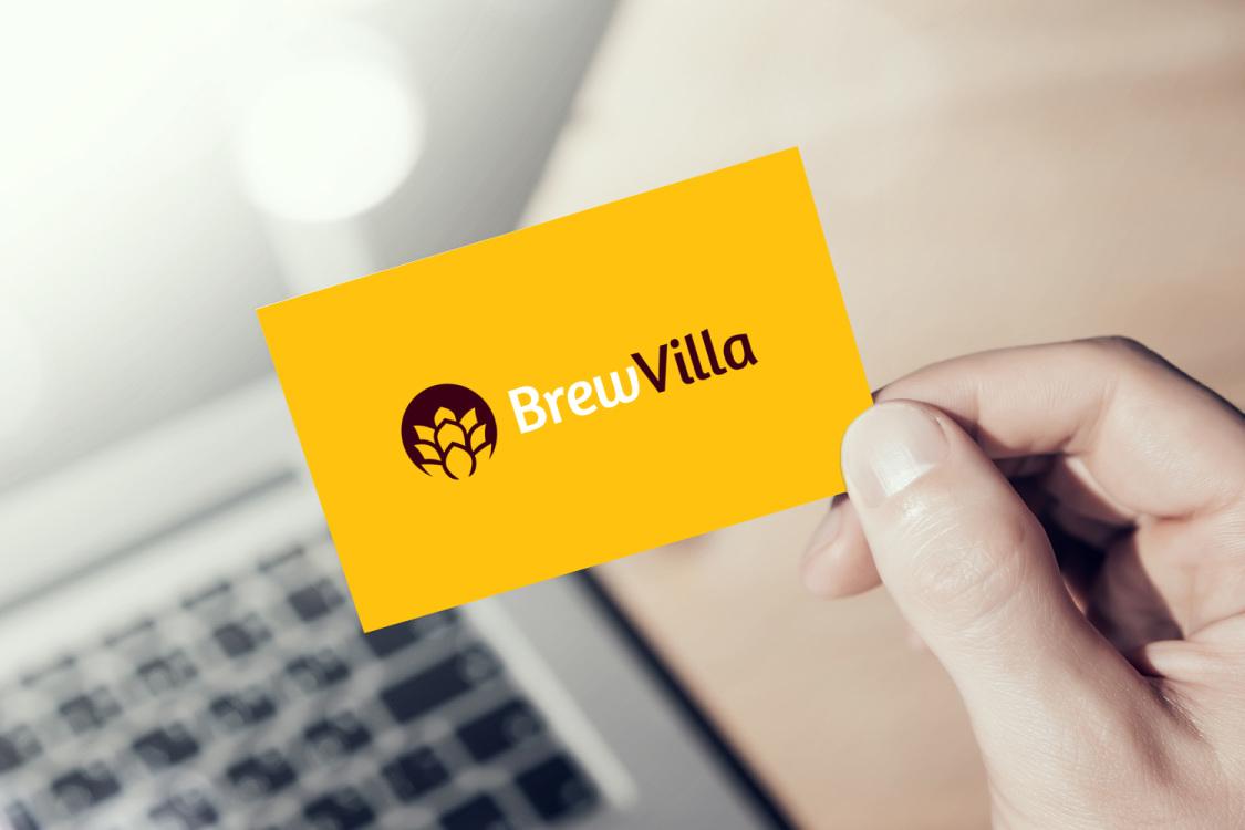 Sample branding #2 for Brewvilla